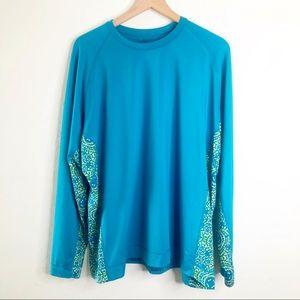 COLUMBIA Omni Shade Sun Rash Guard Shirt 3X